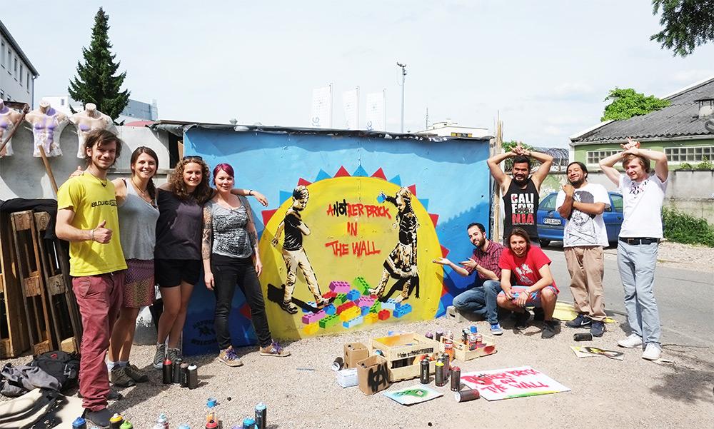 Guerilla Art / Streetart - SoKuBi Team